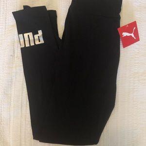 Black puma leggings